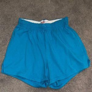 Blue soffe shorts